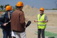Point d'étape et visite du chantier Triglaz