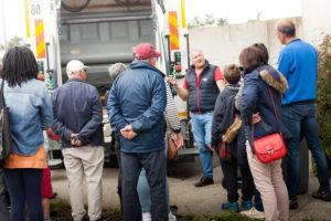 Visiteurs Portes ouvertes Triglaz Sotraval 2019